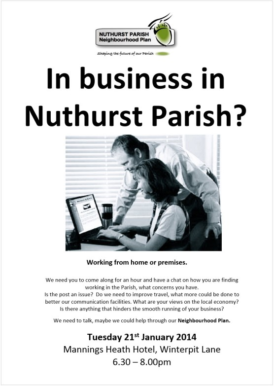 Business workshop poster